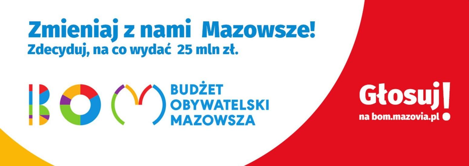 Budżet Obywatelski Mazowsza - zagłosuj na projekt w mieście Pionki
