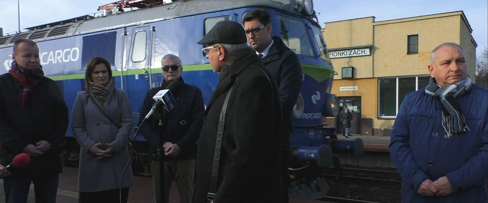 Poseł interweniuje w sprawie dworców kolejowych w Pionkach