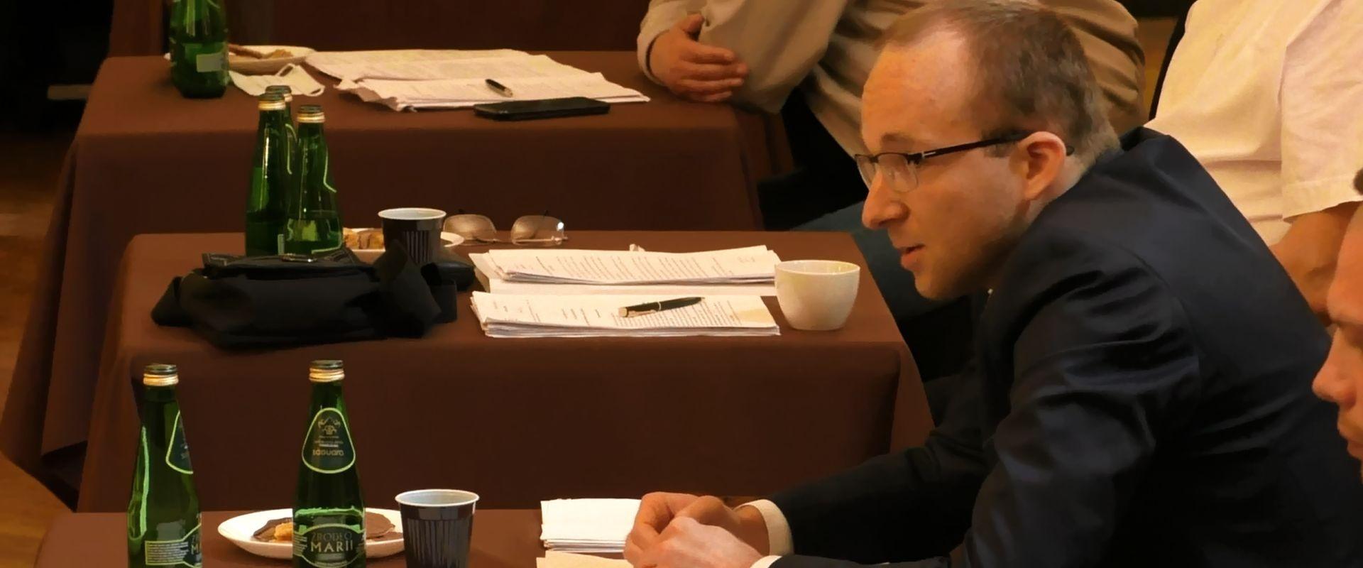 Nowy przewodniczący komisji skarg, wniosków i petycji