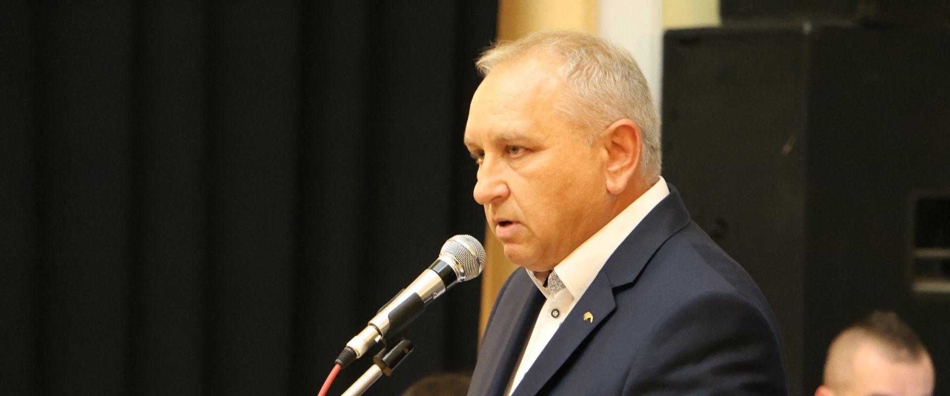 Robert Kowalczyk na spotkaniu z wyborcami