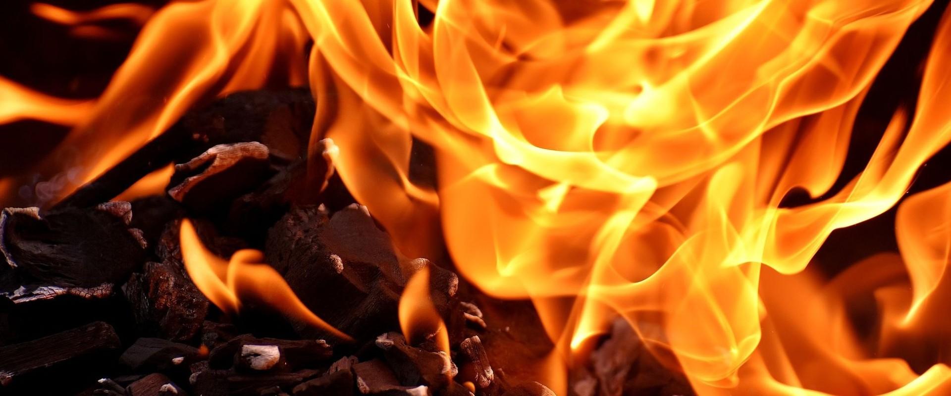 Wybuch pożaru na Pronicie