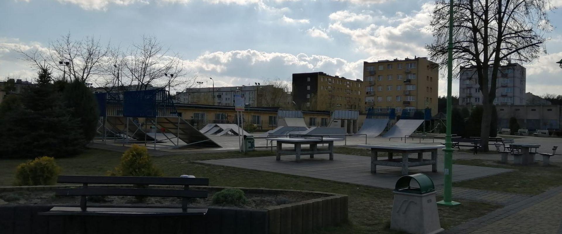 Remont ramp Skate Parku