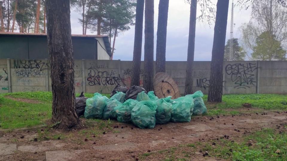 Z inicjatywy radnego posprzątali Pronit