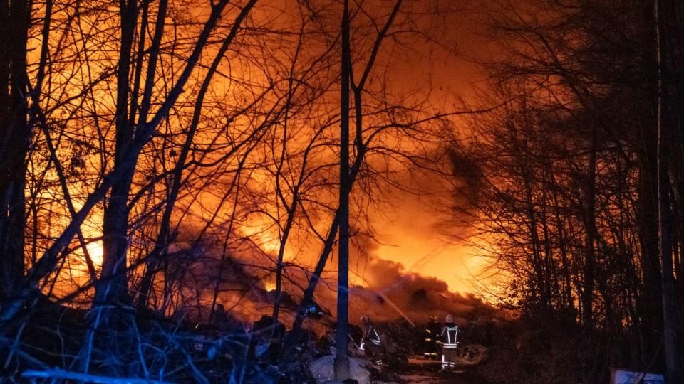 Pożar na składowisku śmieci tematem spotkania radnych