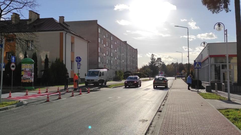 Zupełnie nowa ul. J. Słowackiego i ul. Plac Konstytucji 3 Maja