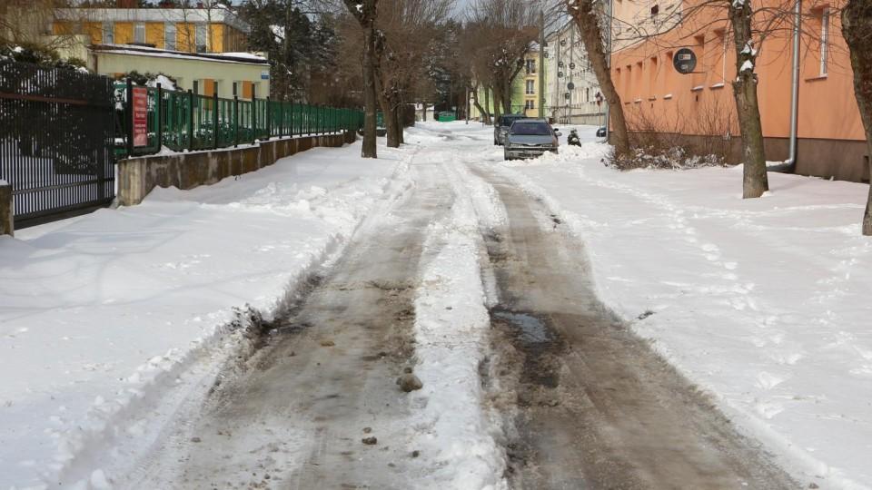 Zima zaskoczyła… służby miejskie