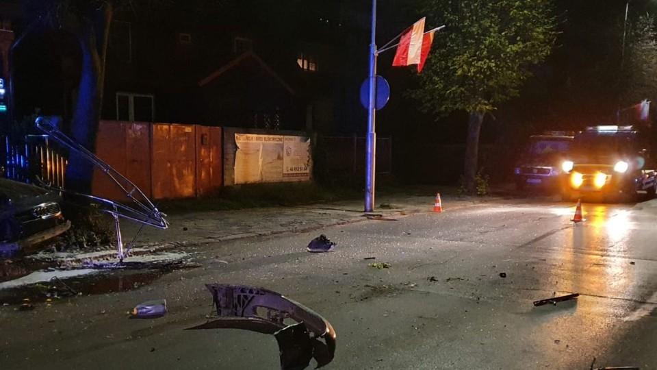 Poważny wypadek przy ul. Sienkiewicza